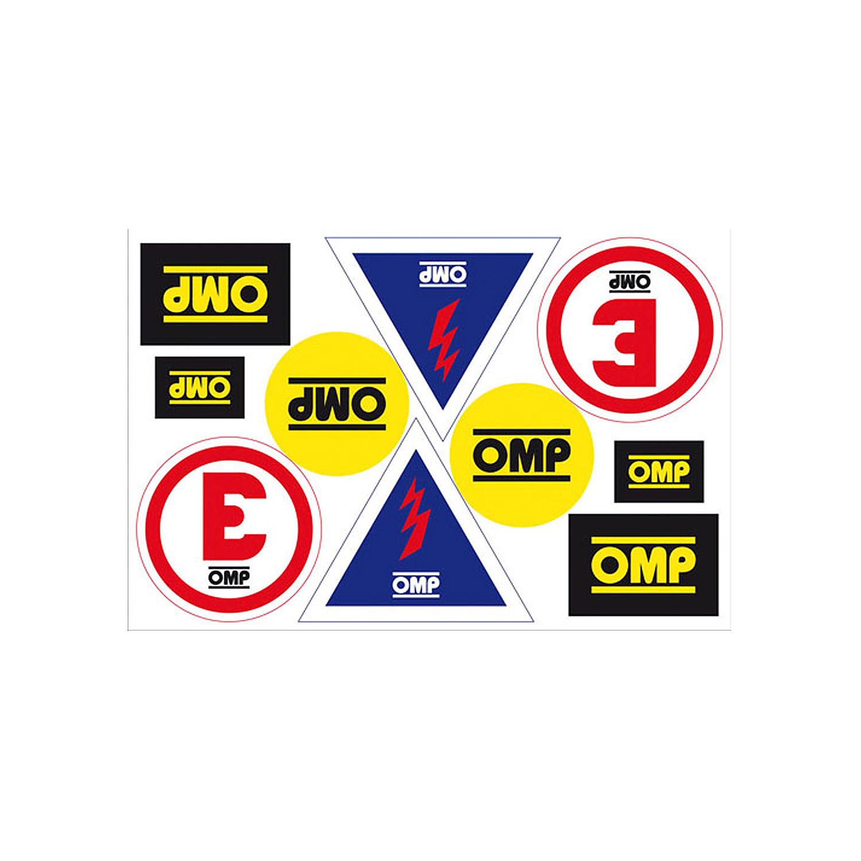 Details about new omp logo sticker sheet