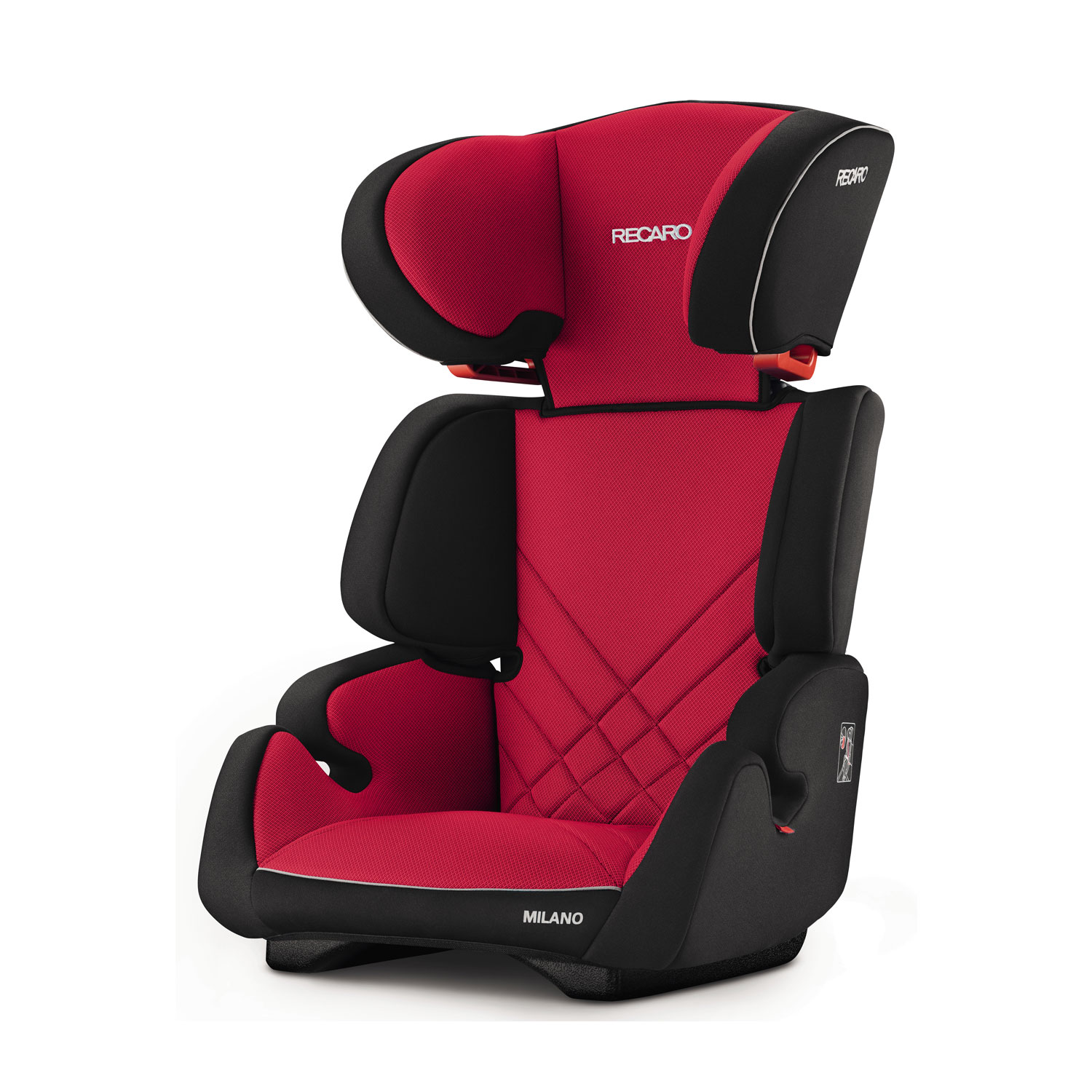 recaro germany milano racing red child seat 15 36 kg 33. Black Bedroom Furniture Sets. Home Design Ideas