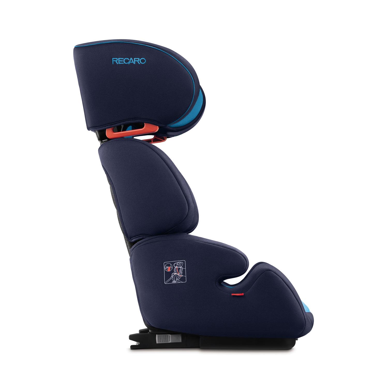 Recaro Germany Milano Seatfix Performance Black Child Seat