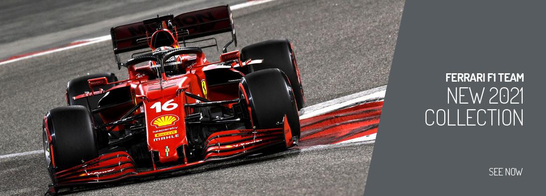New 2021 Ferrari F1 Team Collection