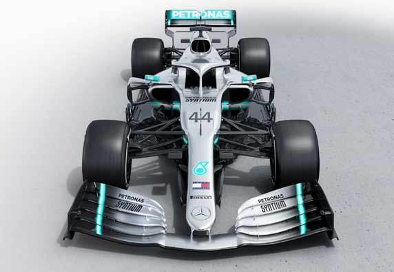New 2019 Mercedes AMG Petronas Official Collection
