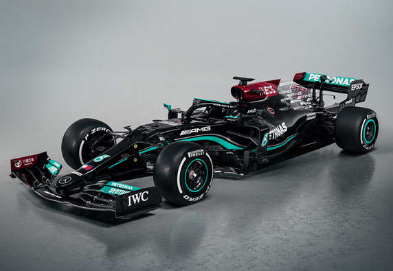 The latest collection of Formula One Champions for 2021