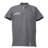 2018 Official WRC Mens Detail Polo Shirt Grey