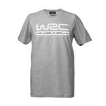 2018 Official WRC Mens Logo T-shirt Grey