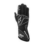 Alpinestars Italy 1-ZX black/silver Racing Gloves (FIA)