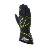 Alpinestars Italy TECH 1-KX Black/Yellow Racing Gloves (CIK & SFI)