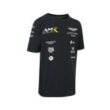 Aston Martin Motorsport 2018 Kids' Team T-Shirt Navy Blue