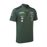 Aston Martin Motorsport Men's Team Polo Shirt Green