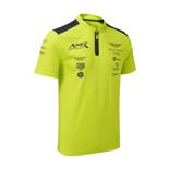 Aston Martin Motorsport Men's Team Polo Shirt Lime