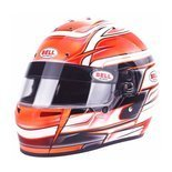 Bell USA KC7-CMR VENOM Full Face Helmet Orange