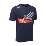 Ford Racing Men's Car T-Shirt Blue