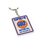Gulf 2017 Logo Key Ring
