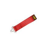 "OMP Italy 2"" Red Tow Hook Strap (FIA Homologation)"