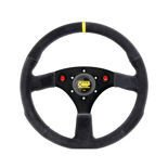 OMP Italy ALU Suede Steering Wheel with horn