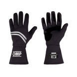 OMP Italy DIJON black Racing Gloves (with FIA homologation)