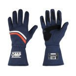 OMP Italy DIJON navy blue Racing Gloves (with FIA homologation)