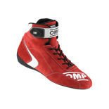 OMP Italy FIRST-S Red Racing Shoes (FIA)