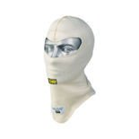OMP Italy FIRST White Open Balaclava size S (FIA)