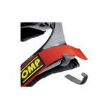 OMP Italy Hans device harness clips (pair) Rubber Anti-Slip