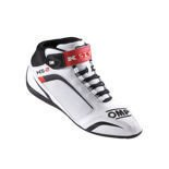OMP Italy KS-2 White Karting Shoes