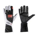 OMP Italy KS-3 Black-White and Fluo Orange Gloves