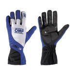OMP Italy KS-3 Blue and White Gloves