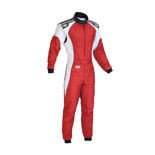 OMP Italy KS-3 red Karting Suit (with CIK FIA homologation)