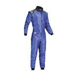 OMP Italy KS-4 blue Karting Suit (with CIK FIA homologation)