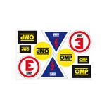 OMP Italy Logo Sticker Sheet