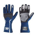 OMP Italy MISTRAL blue Racing Gloves (with FIA homologation)