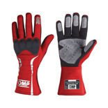OMP Italy MISTRAL red Racing Gloves (with FIA homologation)