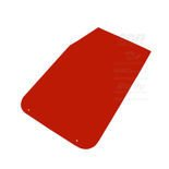 OMP Italy Mud Flaps red (50x30cm)