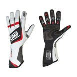 OMP Italy ONE EVO white Racing Gloves (FIA)