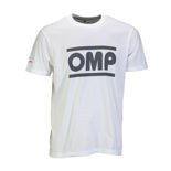 OMP Italy Racing Spirit Men's T-Shirt white