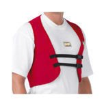 OMP Italy Rib Protection Vest red
