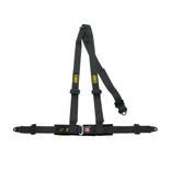 OMP Italy Road 3 - points Safety Belts ECE, DA504 Black