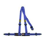 OMP Italy Road 3 - points Safety Belts ECE, DA504 Blue