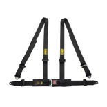 OMP Italy Road 4 - points Safety Belts ECE, DA505 Black