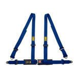 OMP Italy Road 4 - points Safety Belts ECE, DA505 Blue