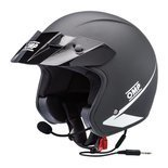 OMP Italy STAR-J Open Face Helmet Black