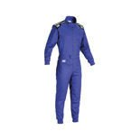 OMP Italy SUMMER-K Kids blue Karting Suit
