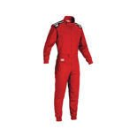 OMP Italy SUMMER-K Kids red Karting Suit