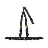 OMP Italy Strada 3 - points Safety Belts ECE, DA509 Black