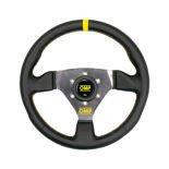 OMP Italy TRECENTO Leather Steering Wheel