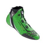 OMP ONE EVO Formula R Racing Shoes green (FIA homologation)