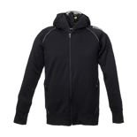 Official WRC Mens Zip Hoodie Black