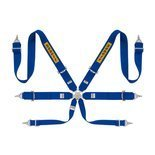 "Sabelt Safety Belts 6 - points Steel Saloon Rally 3"" Blue (with homologation FIA)"