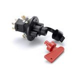 Sparco Italy 6-pole Master Battery Cutout Switch