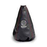 Sparco Italy BASIC Gear Knob Gaiter red thread