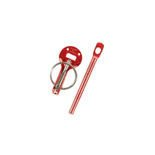 Sparco Italy Bonnet Pins Red